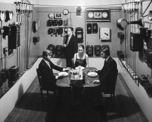 Le repas électrique - Hervé Lesieur
