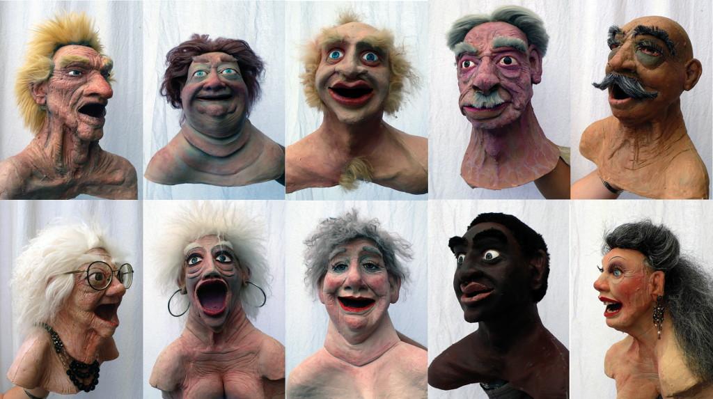 Les encombrants font leur cirque - 2012 - Hervé Lesieur - Scenographie
