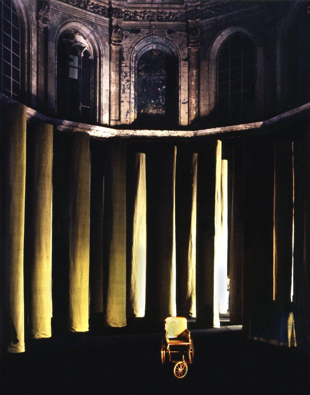L'homme sans voix - 1997 - Hervé Lesieur - Scenographie