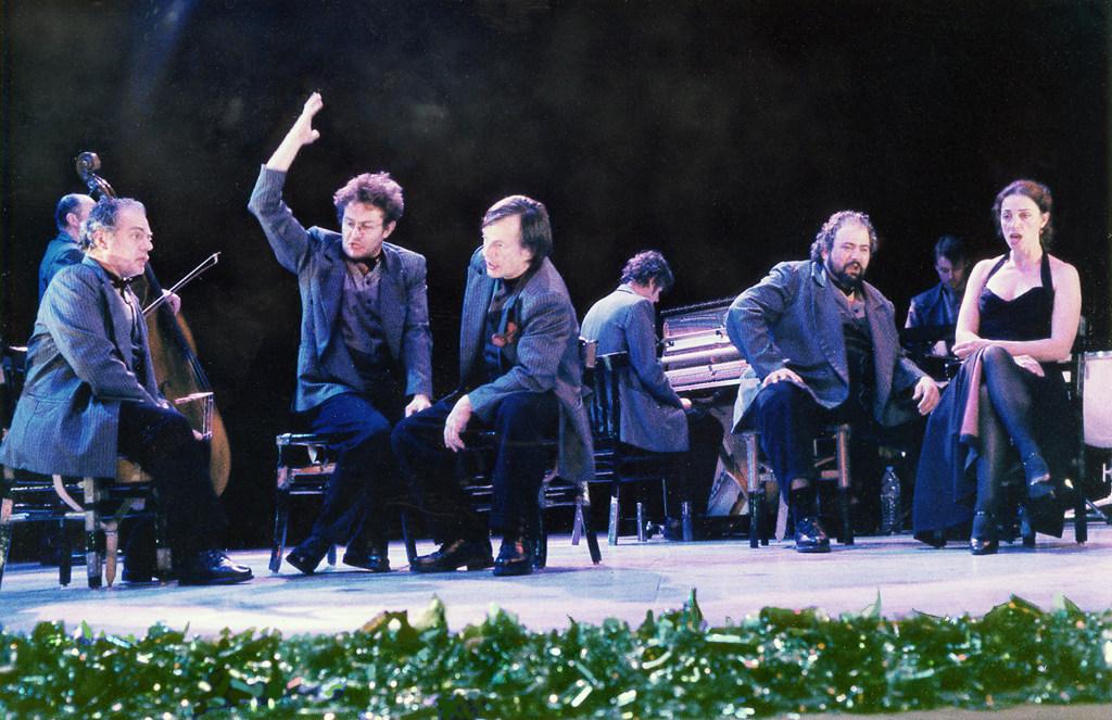 Oratorio pour joueur de tango - 2001 - Hervé Lesieur - Scenographie