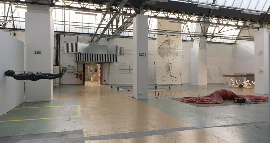 À corps perdu exposition de Herve Lesieur à Arras : vue 1