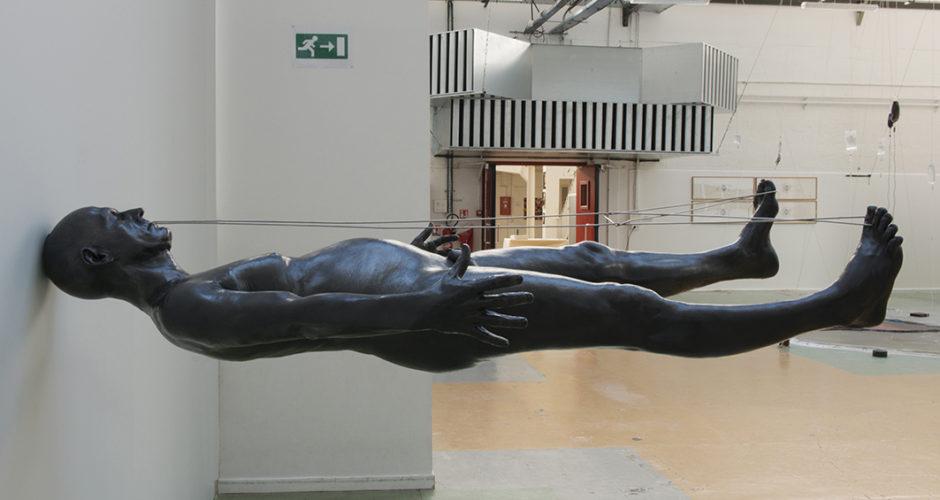 À corps perdu exposition de Herve Lesieur à Arras : vue 3